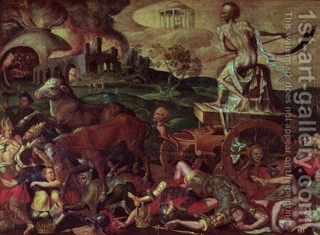 The Triumph of Death by Anonymous Artist - Reproduction Oil Painting