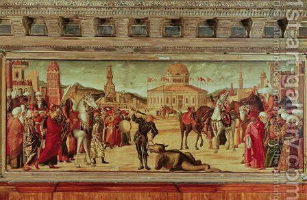 The Triumph of St. George, 1501-07 by Vittore Carpaccio - Reproduction Oil Painting