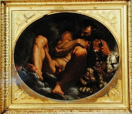 Pluto by Agostino Carracci - Reproduction Oil Painting