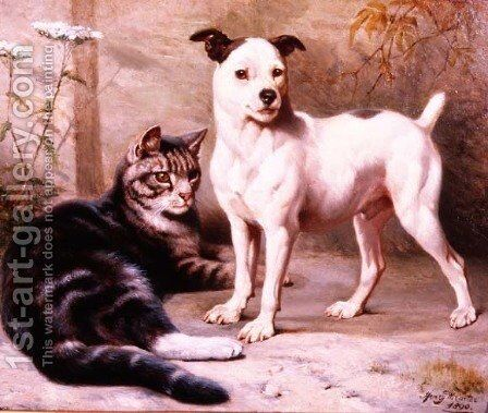 Best Friends by Henry William Carter - Reproduction Oil Painting