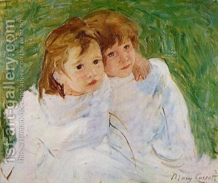The Sisters, c.1885 by Mary Cassatt - Reproduction Oil Painting