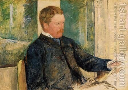 Portrait of Alexander J. Cassatt, c.1880 by Mary Cassatt - Reproduction Oil Painting