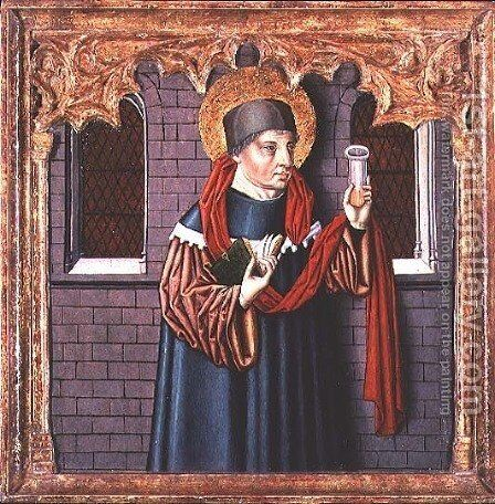 St. Cosmas (Patron Saint of Doctors) by Anonymous Artist - Reproduction Oil Painting