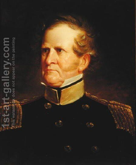General Winfield Scott (1786-1866), c.1835 by George Catlin - Reproduction Oil Painting
