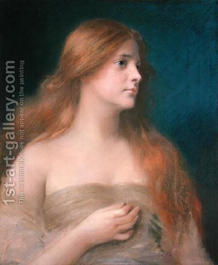 Lilith by James Wells Champney - Reproduction Oil Painting