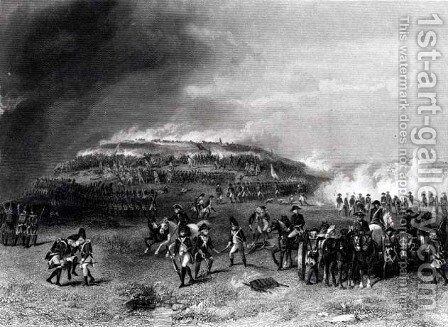 Battle of Bunker's Hill, 17th June 1775 by Alonzo Chappel - Reproduction Oil Painting
