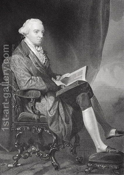 Portrait of John Hancock (1737-93) by Alonzo Chappel - Reproduction Oil Painting
