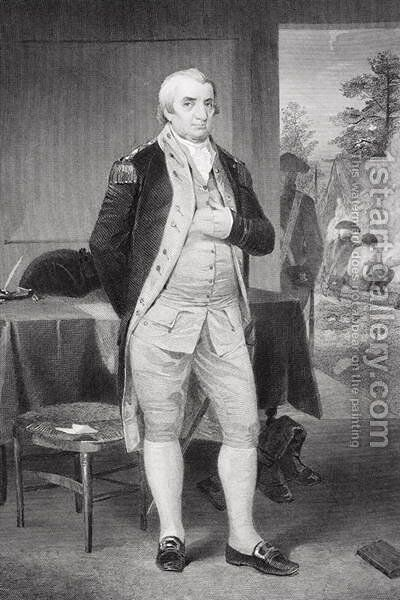Portrait of Charles Cotesworth Pinckney (1746-1825) by Alonzo Chappel - Reproduction Oil Painting