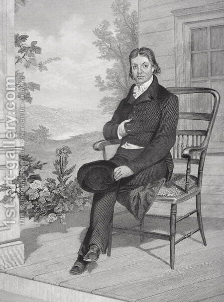 John Randolph (1773-1833) by Alonzo Chappel - Reproduction Oil Painting