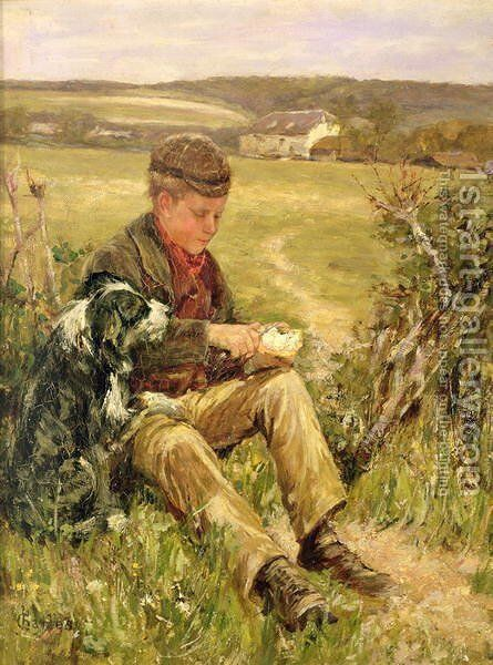 Companions by James Charles - Reproduction Oil Painting