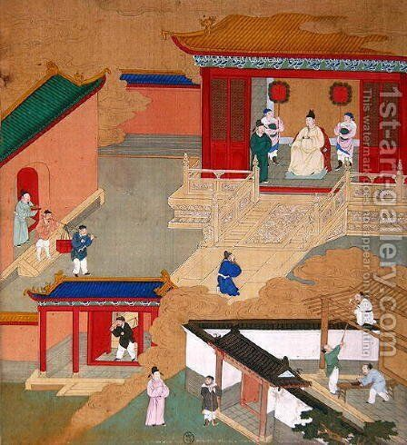 Emperor Ngai Ti by Anonymous Artist - Reproduction Oil Painting