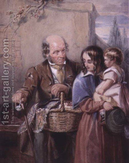 The Pedlar by Alexander Chisholm - Reproduction Oil Painting
