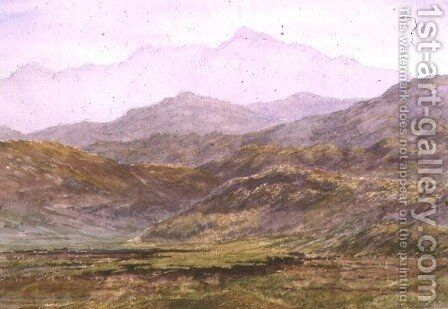 Ben Cruachan by Sir Arthur Herbert Church - Reproduction Oil Painting