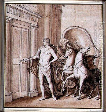 Apollo and his Chariot, 1771 by Giovanni Battista Cipriani - Reproduction Oil Painting