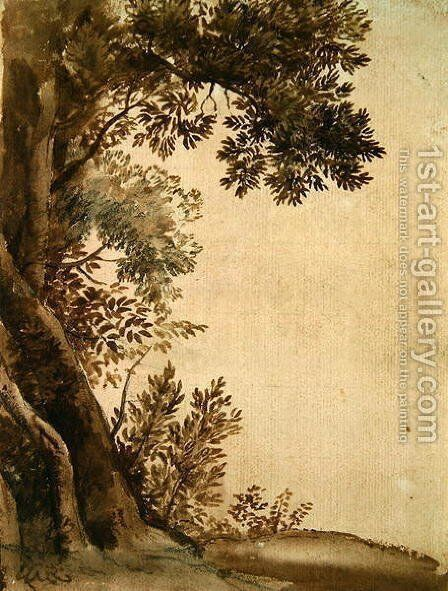 Landscape 2 by Claude Lorrain (Gellee) - Reproduction Oil Painting