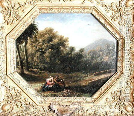 The Rest on the Flight into Egypt, 1631 by Claude Lorrain (Gellee) - Reproduction Oil Painting