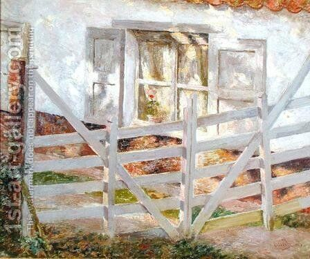 The Gate by Emile Claus - Reproduction Oil Painting