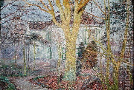 Ray of Sunlight or, Zonneschijn, April 1899 by Emile Claus - Reproduction Oil Painting