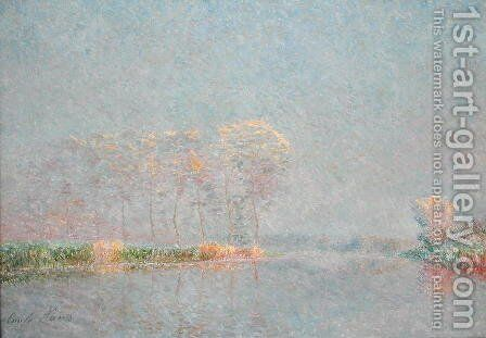 Fog on the Lys by Emile Claus - Reproduction Oil Painting