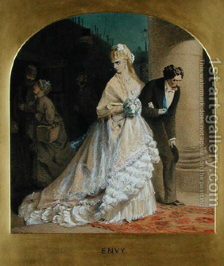 Envy by Adelaide Claxton - Reproduction Oil Painting