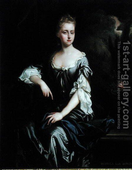 Portrait of Isabella Machell, Viscountess Irwin, c.1685-90 by (attr.to) Closterman, Johann - Reproduction Oil Painting