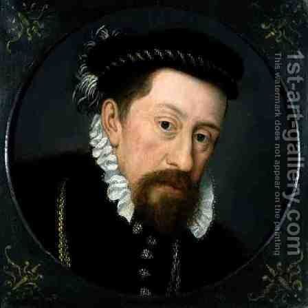 Portrait of The Duke of Montmorency (1493-1567) by (and workshop) Clouet, Francois - Reproduction Oil Painting
