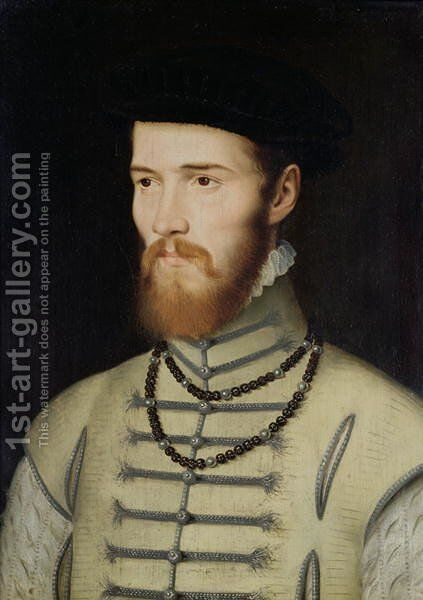Portrait of a Man, possibly Don John of Austria (1547-78), c.1570 by Anonymous Artist - Reproduction Oil Painting