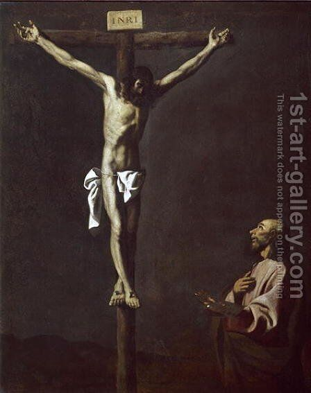 Crucifixion, 1635 by Claudio Coello - Reproduction Oil Painting