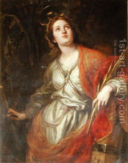 St. Catherine of Alexandria, 1683 by Claudio Coello - Reproduction Oil Painting