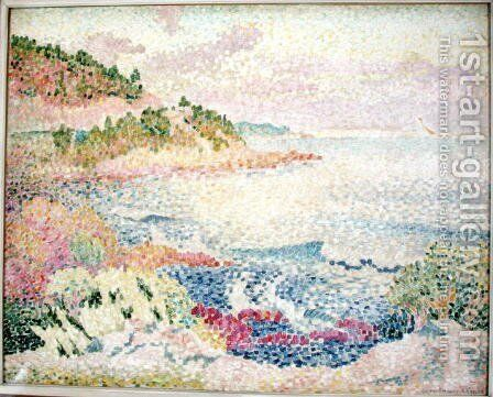 The Maures, c.1906-06 by Henri Edmond Cross - Reproduction Oil Painting