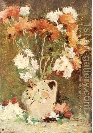 Chrysanthemums by Stefan Luchian - Reproduction Oil Painting
