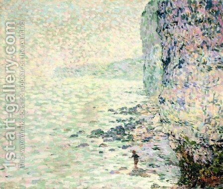Falaises d'Etretat by Claude Emile Schuffenecker - Reproduction Oil Painting