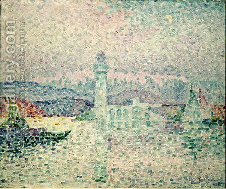 The Lighthouse at Antibes, 1909 by Paul Signac - Reproduction Oil Painting