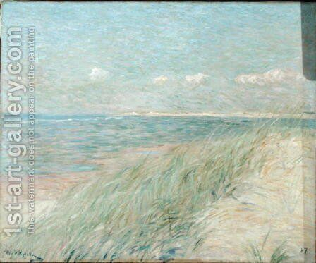 Les Dunes du Zwin, Knokke, 1887 by Theo van Rysselberghe - Reproduction Oil Painting