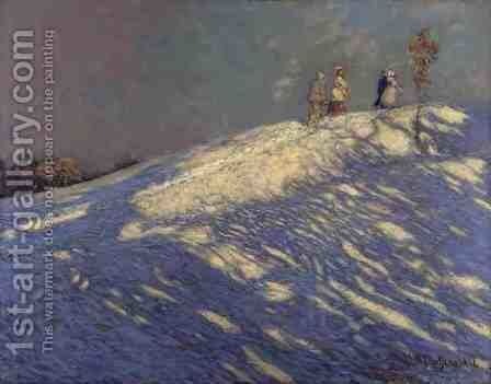 Morning Shadows, 1912 by James Edward Hervey MacDonald - Reproduction Oil Painting