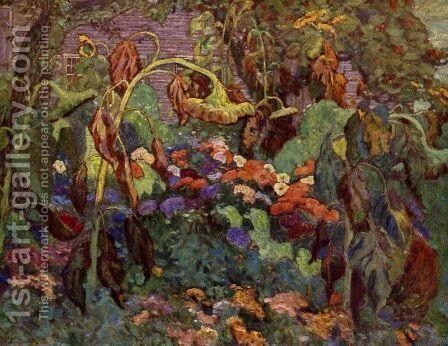 Tangled Garden by James Edward Hervey MacDonald - Reproduction Oil Painting