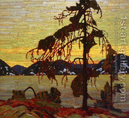The Jack Pine by Tom Thomson - Reproduction Oil Painting