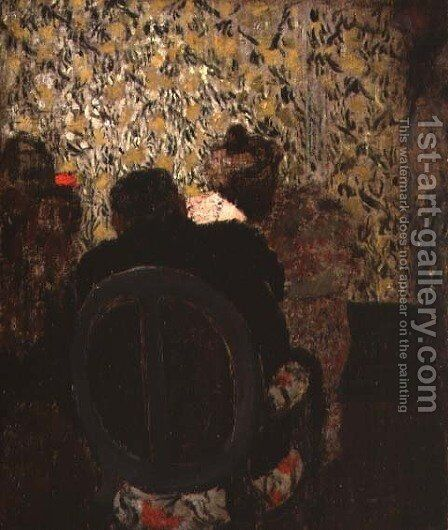The Manicure, 1897 by Edouard  (Jean-Edouard) Vuillard - Reproduction Oil Painting