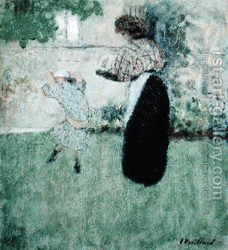 The Dance by Edouard  (Jean-Edouard) Vuillard - Reproduction Oil Painting