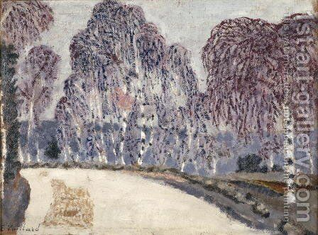 Birches at L'Etang-a-la-Ville, 1896 by Edouard  (Jean-Edouard) Vuillard - Reproduction Oil Painting