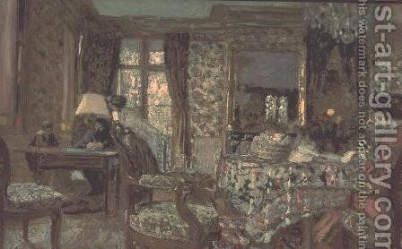 Interior, 1904 by Edouard  (Jean-Edouard) Vuillard - Reproduction Oil Painting