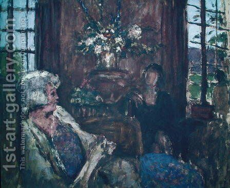 Interior 2 by Edouard  (Jean-Edouard) Vuillard - Reproduction Oil Painting