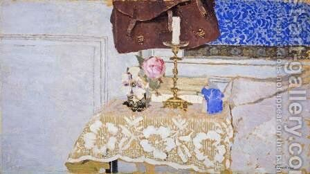 The Candlestick, c.1900 by Edouard  (Jean-Edouard) Vuillard - Reproduction Oil Painting