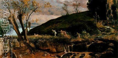 The Hunt of Diana, 1896 by Arnold Böcklin - Reproduction Oil Painting
