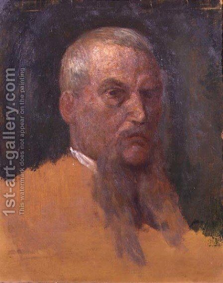 Sir Richard Burton (1821-90) by George Frederick Watts - Reproduction Oil Painting