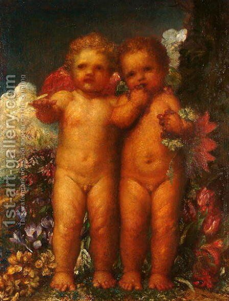 In the Land of Weissnichtwo, 1894 by George Frederick Watts - Reproduction Oil Painting