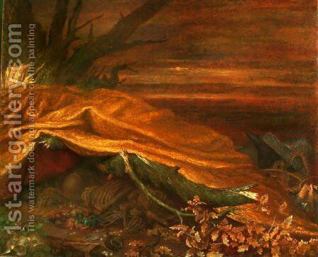 'Can These Bones Live?' by George Frederick Watts - Reproduction Oil Painting