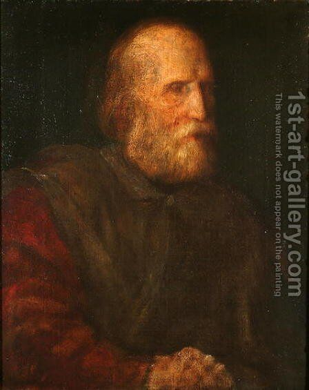 Giuseppe Garibaldi (1807-82) 1864 by George Frederick Watts - Reproduction Oil Painting