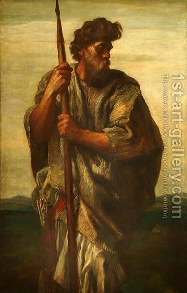 Esau, c.1865 by George Frederick Watts - Reproduction Oil Painting