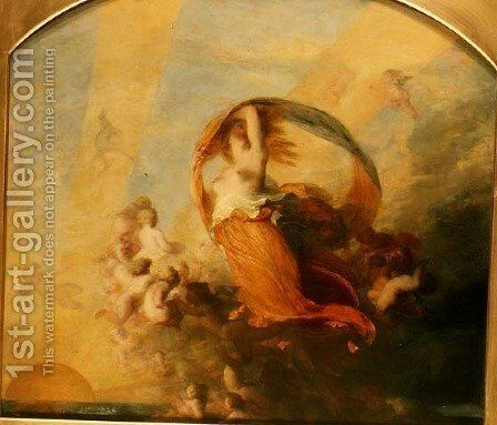 Aurora by George Frederick Watts - Reproduction Oil Painting